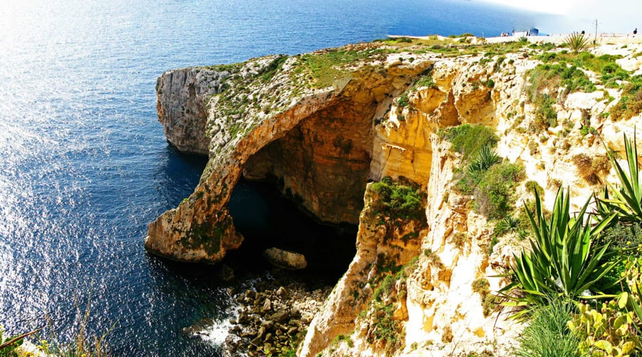 Places to See in Malta - Blue Grotto